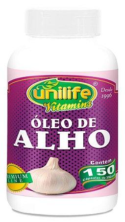 Óleo de Alho 150 Cápsulas (350mg) - Unilife