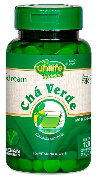 Cha Verde em Capsulas (120) - Unilife