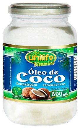 Óleo de Coco Líquido (500ml) - Unilife