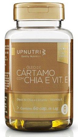 Óleo de Cártamo + Óleo de Chia e Vitamina E (60 cápsulas) - Upnutri