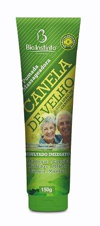 Pomada Massageadora Canela de Velho Com Sebo de Carneiro Bio Instinto - 150G