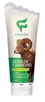 Sebo de Carneiro Relaxante com Mentol (200ml) Fashion