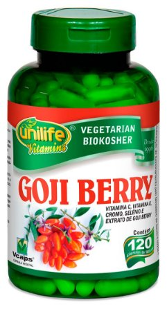 Goji Berry Unilife 120 Cápsulas (500mg)