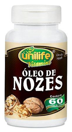Óleo de Nozes 60 capsulas (1200mg) - Unilife