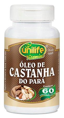 Oleo de Castanha do Para em Capsulas 60und - Unilife