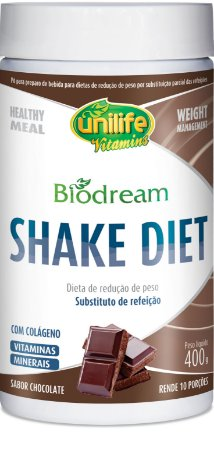 Biodream Shake Diet Sabor chocolate 400g - Unilife
