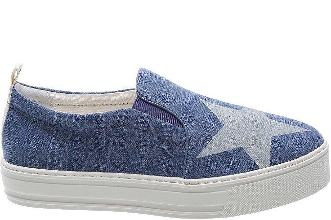 Tênis Malibu Blue Jeans Star Sola Alta