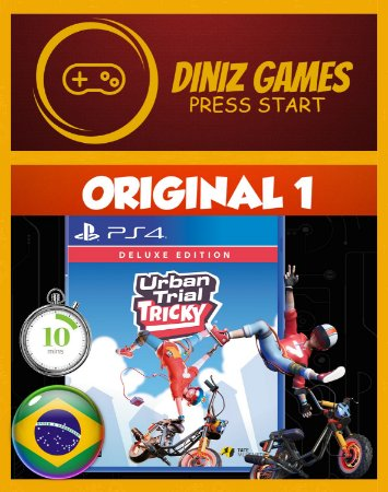 URBAN TRIAL TRICKY PS4