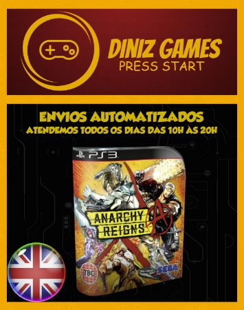 Anarchy Reigns Psn Ps3