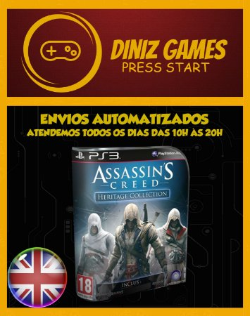 Assassins Creed Trilogia (1,2,3) Psn Ps3