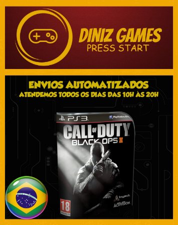 Call Of Duty Black Ops 2 Ps3 Português Psn