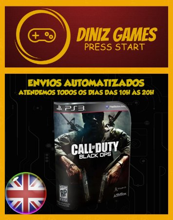Call Of Duty Black Ops Psn Ps3