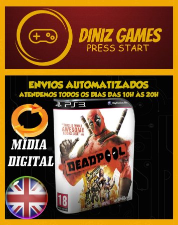 Deadpool Psn Ps3