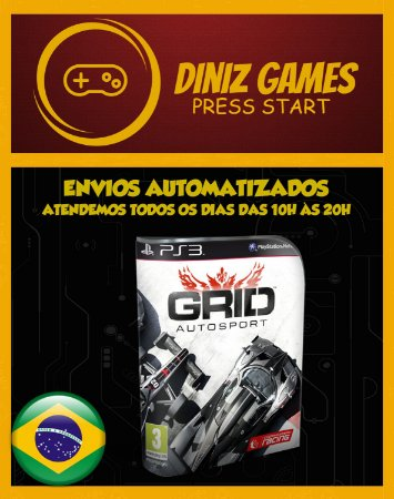 Grid: Autosport Psn Ps3