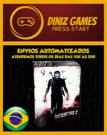 Infamous: Festival Of Blood Psn Ps3