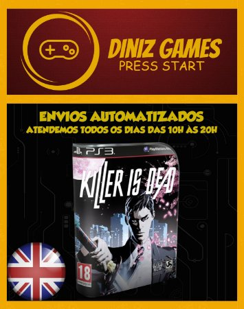 Killer Is Dead Psn Ps3