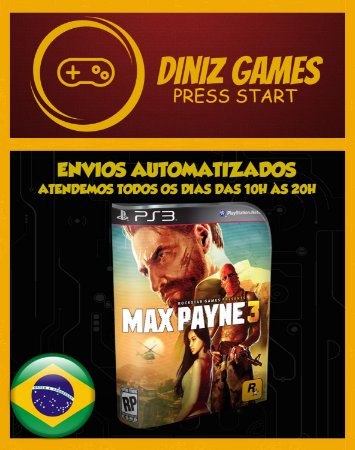 Max Payne 3 Psn Ps3