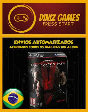 Metal Gear V: The Phantom Pain Psn Ps3