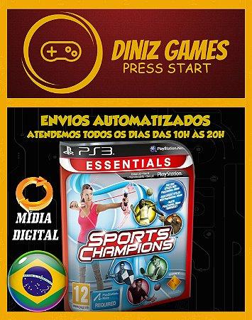 Sports Champions 1 E 2 Psn Ps3
