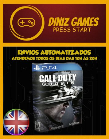 Call Of Duty Ghosts Psn Ps4