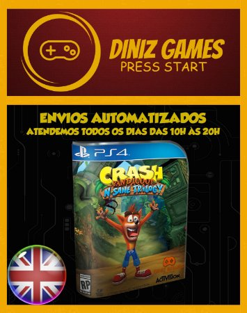 Crash Bandicoot N. Sane Trilogy Psn Ps4