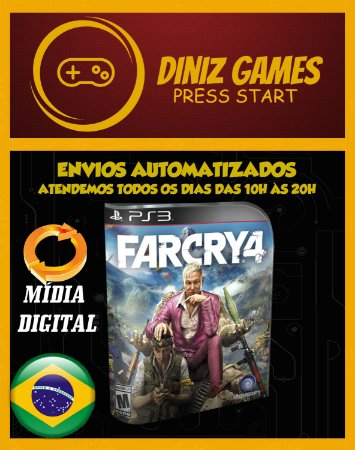 Far Cry 4 + Dlc Valley Of The Yetis Ps3