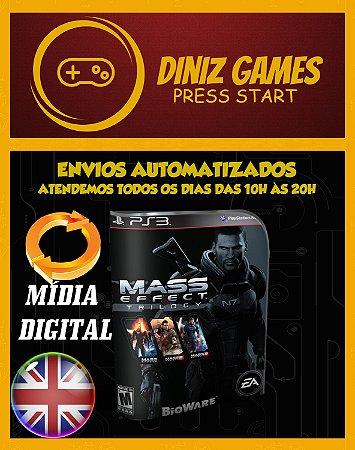 Mass Effect Trilogia Ps3