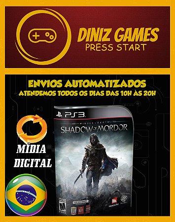 Shadow Of Mordor PS3