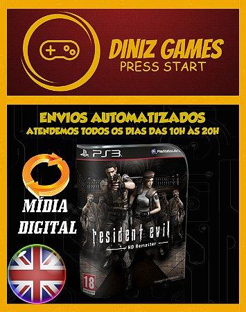 Resident Evil Remaster Ps3