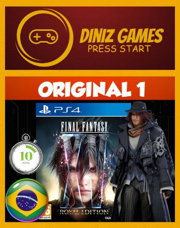 Final fantasy XV Royal edition Psn Ps4