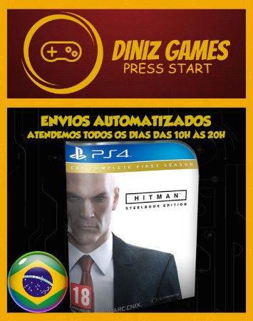Hitman Complete Edition Psn Ps4