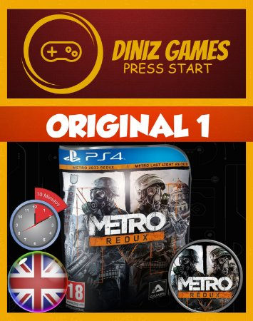 Metro Redux Psn Ps4