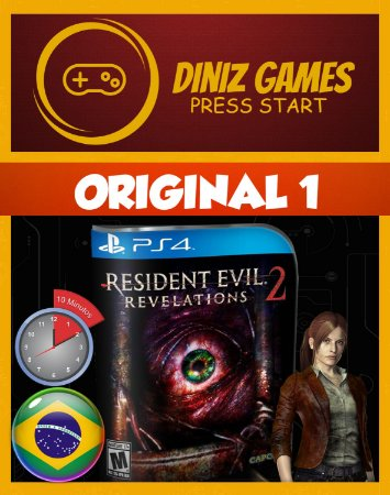 Resident Evil Revelations 2 Psn Ps4