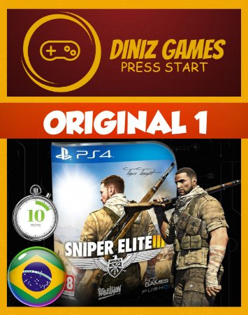 Snipe Elite 3 Psn Ps4