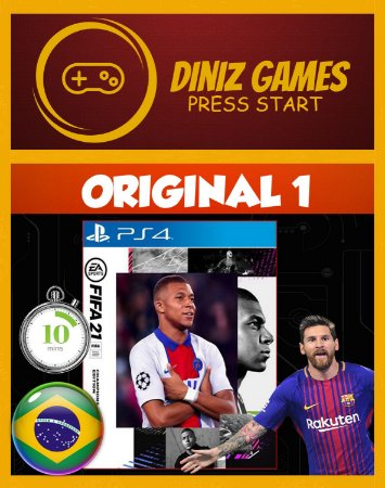 Fifa 21 em Português Psn Ps4
