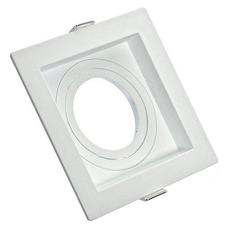 Spot LED Embutir Recuado AR70 Quadrado