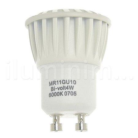 Lâmpada LED Dicroica MR11 4w Branco Frio | Inmetro