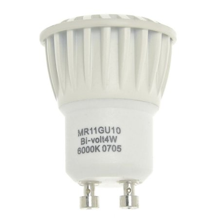 Lâmpada LED Dicroica MR11 4w Branco Quente | Inmetro