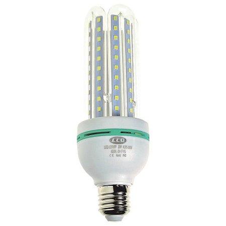 Lâmpada LED Milho 4U E27 20W Branco Frio | Inmetro