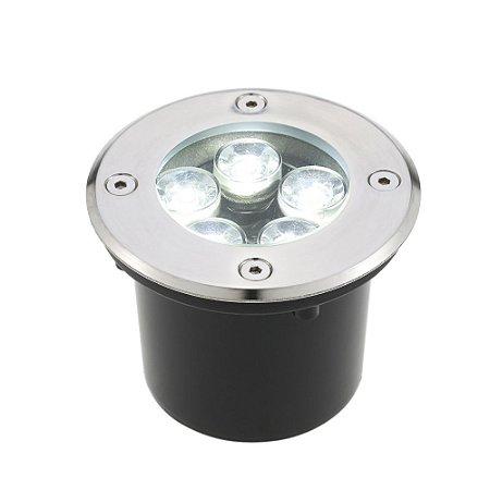 Spot Balizador LED 5W Branco Frio para Piso