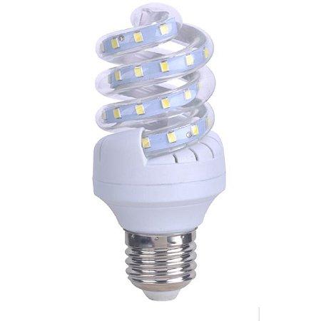 Lâmpada LED Espiral 7W Branca