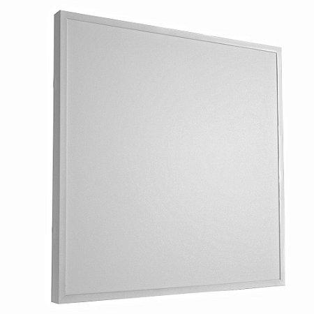 Luminária Plafon 60x60 36W LED Sobrepor Branco Frio