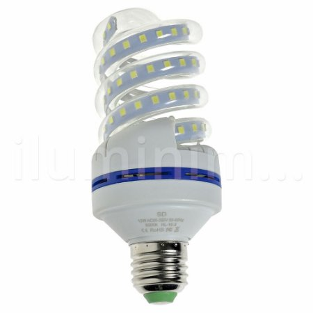 Lâmpada LED Espiral 12w Branca | Inmetro