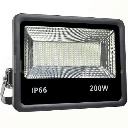 Refletor Holofote MicroLED 200W Branco Frio