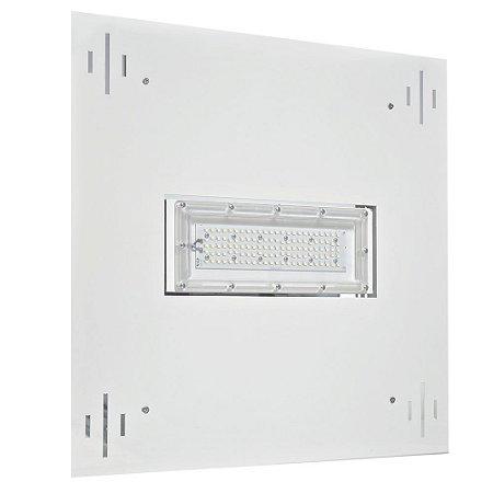 Luminária LED Posto de Gasolina 50W