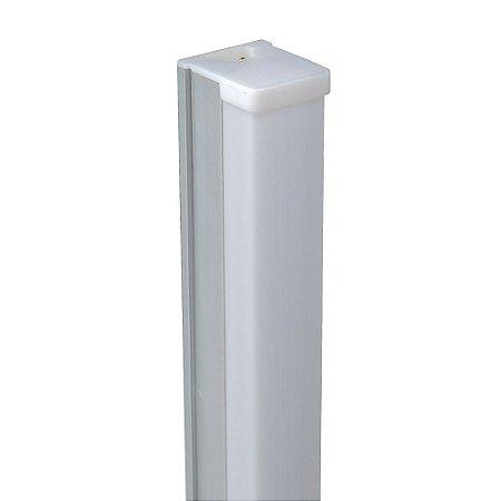 Lâmpada LED Tubular T8 18W 1,20m c/ Calha - Branco Frio   Inmetro