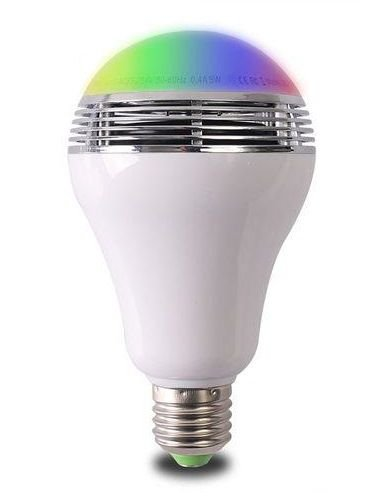Lampada LED 7W RGB Colorida Bluetooth c/ Aplicativo | Inmetro