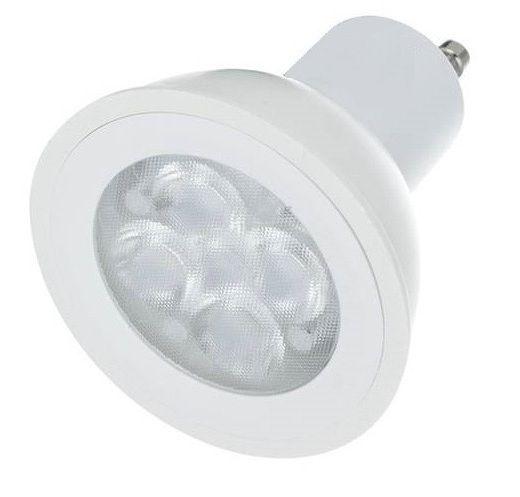 Lampada LED Dicróica 4,5W GU10 Branco Quente   Inmetro