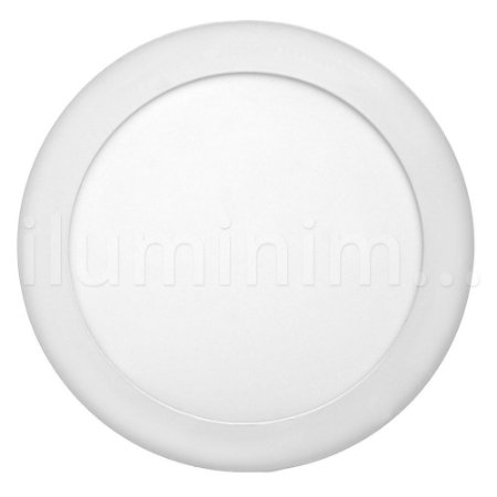 Kit 10 Luminária Plafon 12w LED Embutir Branco Frio
