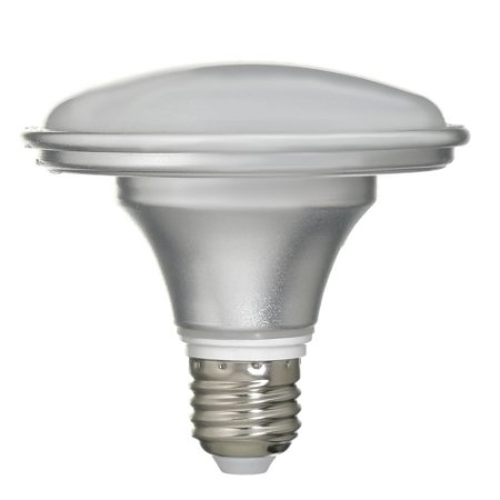Lâmpada LED Prato 12W Bivolt Prateada Branco Frio | Inmetro